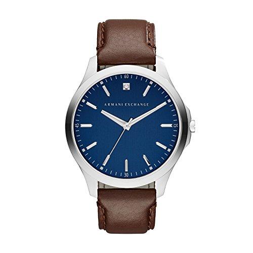 Armani Exchange Herren-Uhren AX2181 Armani Uhr Herren Braun Leder