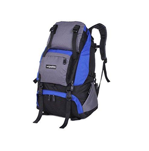 Wmshpeds Outdoor travel borsa a tracolla femmina alpinismo viaggio borsa zaino camouflage maschio 40L bagagli C