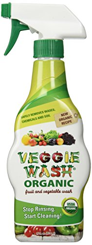 Veggie Wash Organic Fruit and Vegetable Wash, 16 Fluid Ounce
