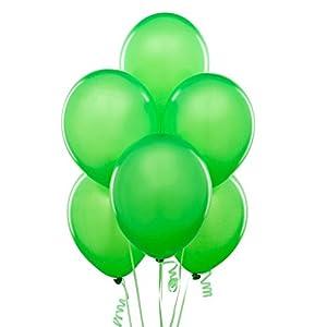 Gifts 4 All Occasions Limited SHATCHI-1041 - Lote de globos de látex (50 unidades, 30,5 cm), color verde claro