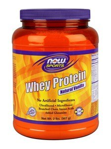 NOW Foods Sports Whey Protein Natural Vanilla -- 2 lbs