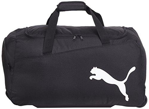 PUMA-Sporttasche-Pro-Training-Wheel-Bag-Bolso-de-gimnasio-color-negro-talla-61-x-31-x-29-cm-53-Liter
