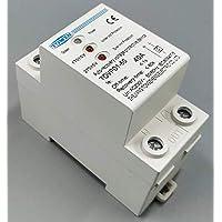 Protector sobre-tensiones y Baja tensión con rearme automático 220-230v, 50-60Hz, MAX.40A
