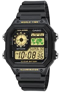 Casio Herren-Armbanduhr XL Casio Collection Digital Quarz Resin AE-1200WH-1BVEF