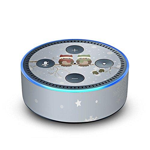 DeinDesign Amazon Echo Dot 2.Generation Folie Skin Sticker aus Vinyl-Folie Owl Eule Uhu