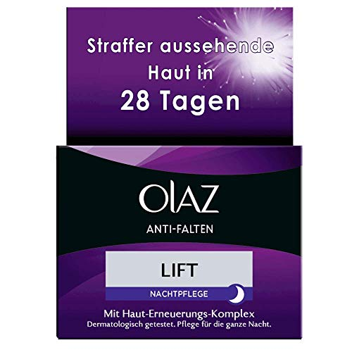 Olaz Anti-Falten Lift Anti-Aging Nachtcreme, 50 ml