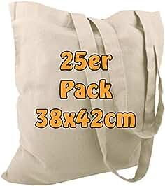 2e3373c5f Bolsas de algodón, de yute, con dos asas largas, color natural, 38