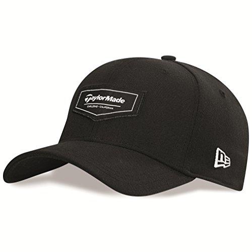 taylormade-golf-2015-pipeline-39thirty-mens-fitted-golf-cap-mutze-schwarz-schwarz-s-m