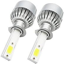 2* H1 LED Faro Bombillas Alquiler de Luces, NuoYo LED Bombillas para Faros Delanteros Kit de Conversion Impermeable IP65 110W 9200LM 50.000 Horas Vida de la Bombilla, Blanco.
