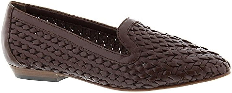 Frauen Leder Loafers 2018 Letztes Modell  Mode Schuhe Billig Online-Verkauf