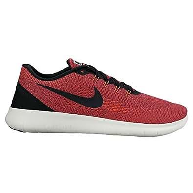 38f6101e3083 ... Nike Free RN Hyper Orange Black Ocean Fog Wolf Grey Men s Running Shoes