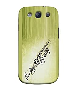 FUSON Designer Back Case Cover for Samsung Galaxy S3 I9300 :: Samsung I9305 Galaxy S Iii :: Samsung Galaxy S Iii Lte (Good Idea Great quote Success Quote)