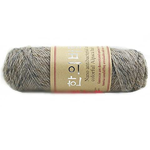 Celine lin One Skein Thick Warm Alpaca Wool Mink Cashmere Knitting Yarn 100g,Multi-colored15 by Celine lin