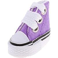 MagiDeal 3 Paio Classica Scarpa Pattini Sneakers Tela Canapa Pizzo Moda Per Bambole Accessori 18 UUIEIktK