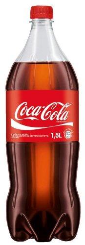 LänderBier Vertriebs GmbH Coca-Cola 1,5L Einwegflasche PET (Preis inkl. 0,25 EUR Pfand)
