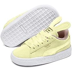 Puma Chaussure Suede Easter Alternate Closure pour bébé Yellow-Coral Cloud-Gold 3