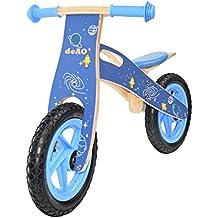 deAO Kinderfahrräder ohne Pedale - holzfahrrad für Kinder