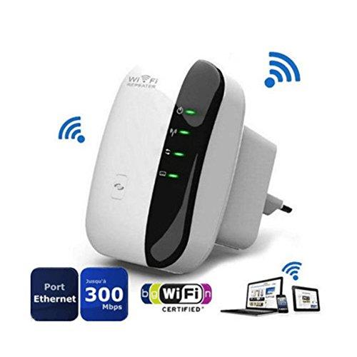 Wifi repetidor Router Extensor de WiFi 300Mbps Mini Wireless Extensor