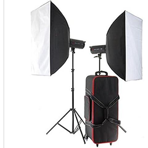 Gowe 2000W Flash * 2Mediano y Grande Real Studio Studio Art Fotos para todos los tipos de publicidad fotografía