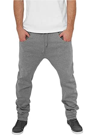 TB504 'Urban Classics' Deep Crotch Sweatpant (Various Colours), Größe:L;Farbe:grey