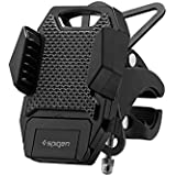Support Telephone Velo, Spigen Velo Premium Spider 2 [Premium Universal Adjustable] [One-button Released Technology] [2 sangles en caoutchouc] Support Telephone Moto pour iPhone Samsung Galaxy GPS Devices - A251