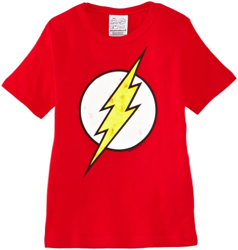 logoshirt-camiseta-de-flash-para-nio-talla-11-aos-140-152-color-rojo
