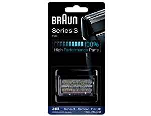 Braun Scherkopf 31B, für Braun Rasierer, schwarz