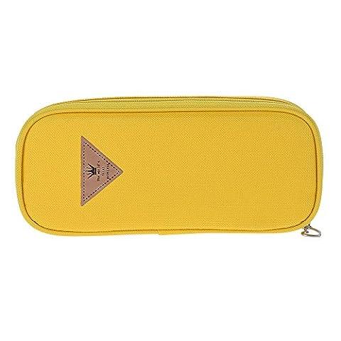 aibecy Multifuctional Candy Farbe Füllfederhalter Lapiz-Schreibwaren Geschenk Student Bürste Kosmetik Tasche Aufbewahrungsbox Rosado