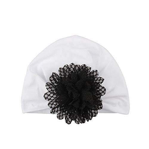 mütze Boho Neugeborene Turban Baby Mädchen Junge Hat Kleinkind Elastische Stretch Blume Weichen Hute 100% Super Weich Baumwolle Knoten Stirnband (C,Einheitsgröße) ()