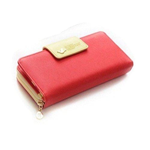 Eysee, Borsetta da polso donna Rosso blu 19cm*9cm*3cm rosso