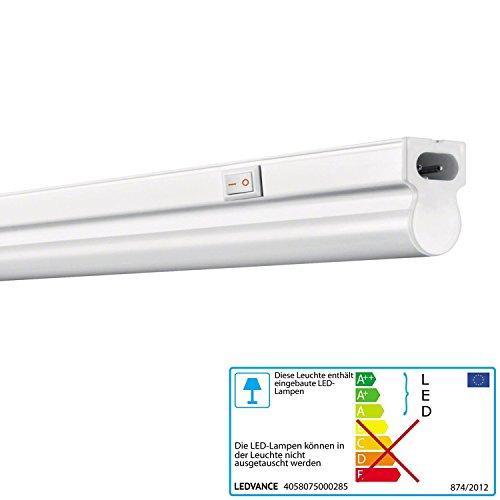 Osram Ledvance LED 8Watt luce bianca calda 830Barra luminosa con interruttore linear 600lampada da incasso