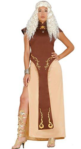 Guirca–Kostüm Erwachsene Königin Drache, Größe 42–44(84618.0)