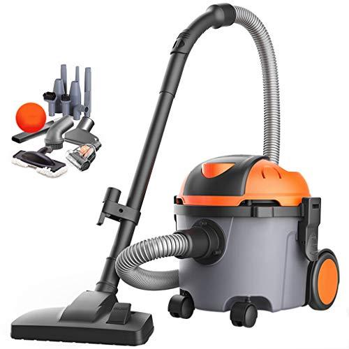 TY-Vacuum Cleaner MMM@ Haushaltsstaubsauger Vertikal Industriestaubsauger Typ 1400W Hochleistungs-Teppichsauger 10L mit großem Fassungsvermögen und Universalrad
