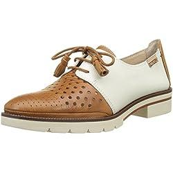 Pikolinos Sitges W7j_v17, Zapatos de Cordones Derby Mujer, Marrón (Brandy)