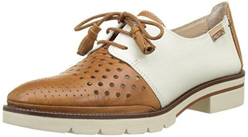 Pikolinos Sitges W7j_v17, Zapatos de Cordones Derby Mujer, Marrón (Brandy), 38 EU