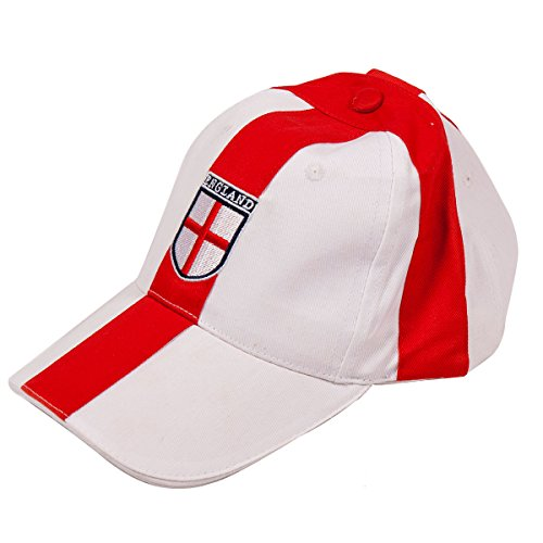 f4ee27c5d01 Li-Lo England Football Hat Baseball Cap One Size Mens FA World Cup Red and