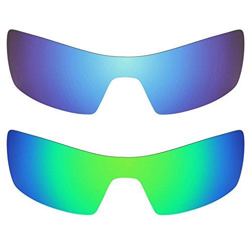 Revant Ersatzlinsen für Oakley Oil Rig Polarisiert 2 Paar Kombipack K006