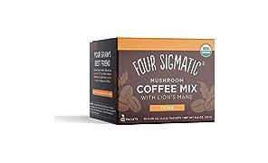Café con hongo melena de león de Four Sigma Foods, 10 sobres
