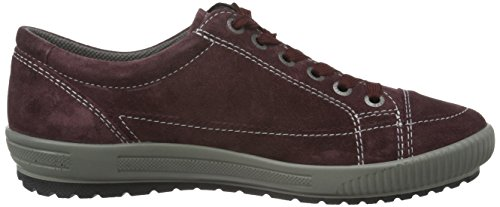 Legero Tanaro, Baskets Basses Femme Rouge - Rot (Burgundy 68)