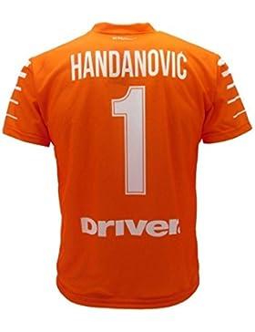 Maglia Calcio Inter Handanovic 2017 2018 Replica Ufficiale PS 08025 Taglie Bambino