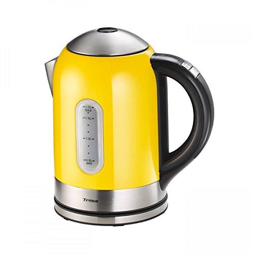 Trisa Electronics 6434.5212000000001 Wasserkocher 1.7 liters, gelb
