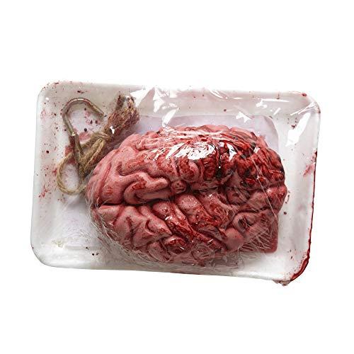 Widmann 01035 - Gehirn in Verpackung mit Blut verschmiert