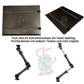 Lescars Laptop Halterung: Universal-Notebook-Kfz-Halterung