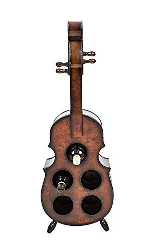 aubaho Weinregal 90cm Cello Kontrabass Weinständer Flaschenregal Flaschenständer Regal