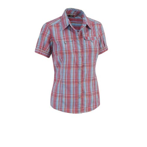 41KfzQ5aeUL. SS500  - maier sports Vicky Blouse Shirt Blue Check 36