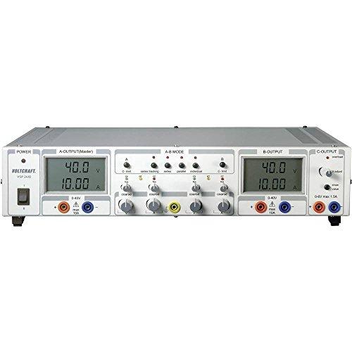 Voltcraft VSP 2410 Labornetzgerät, einstellbar 0.1-40 V/DC 0-10 A 809 W Anzahl Ausgänge 3 x