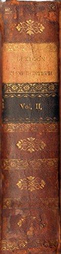 Lexicon Xenophonteum. Volumen secundum. (2. Band).