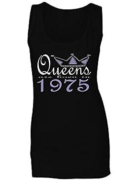 Nuevas reinas de diseño artístico nacen en 1975 camiseta sin mangas mujer b611ft
