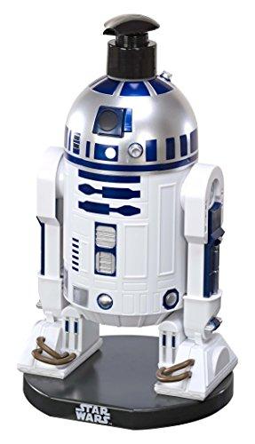 Air-Val Star Wars Geschenkset, Pflegeset für Kinder und Fans, 2 in 1 Duschgel und Shampoo, XXL 3D-Figur von R2D2, Sammel-Edition, 1er Pack (1 x 500 ml)