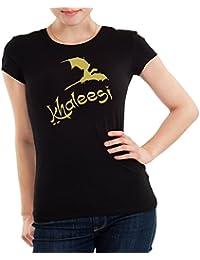 Getting Shirty Conseguir shirty Khaleesi (Inspirado en Juego de Tronos) – Camiseta de Mujer
